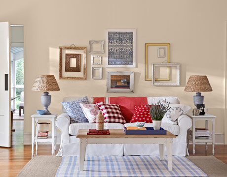 Attirant It Would Even Be Acceptable To Leave Some Furniture Bare. Decorations And  Accessories Should Be U201cnaturalu201d Such As Woven Baskets Or Pottery.