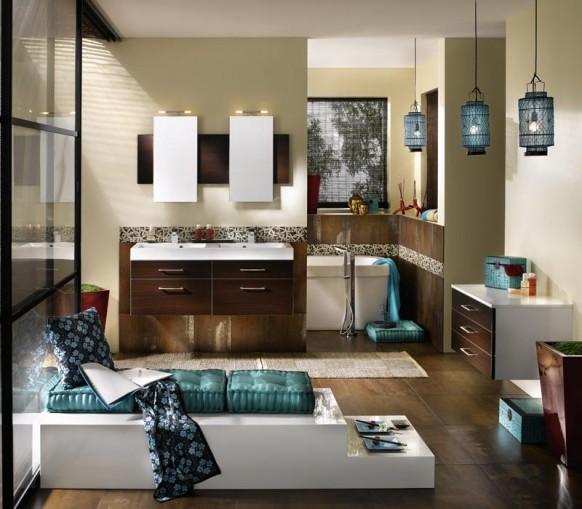 6 Master Bathroom Interior Design Ideas