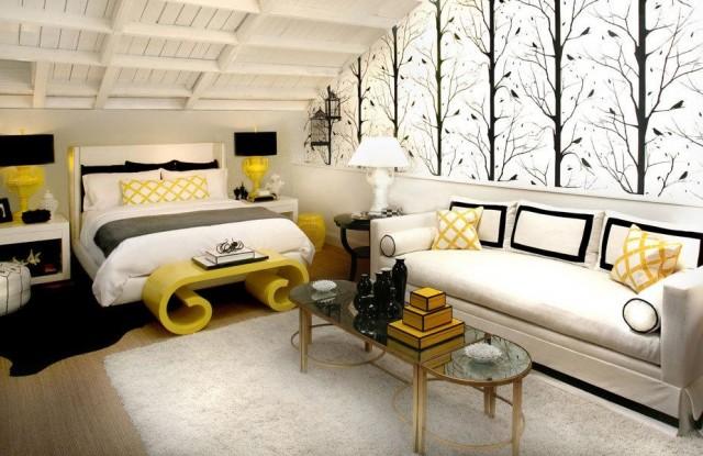 Lighten up your bedroom