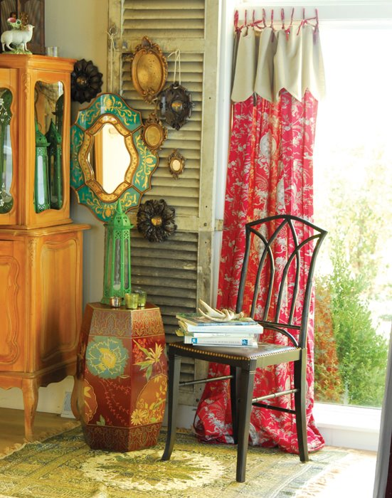 Bohemian Influenced Corner
