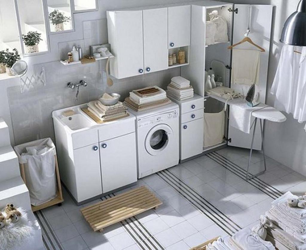 modern laundry room design idea interior