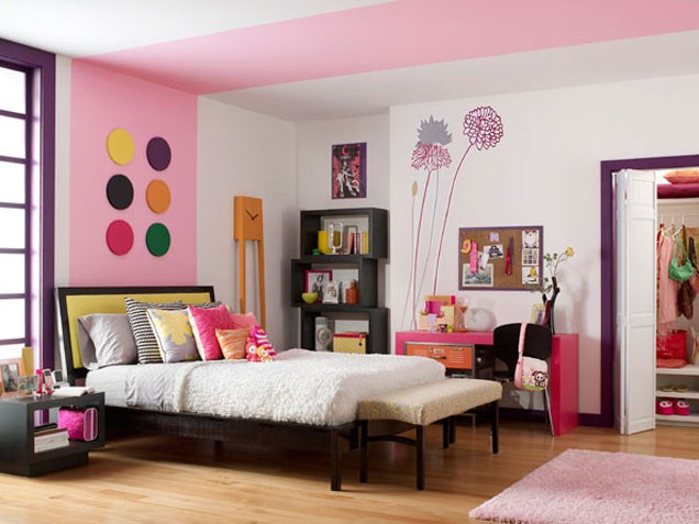 teen bedroom interior design ideas