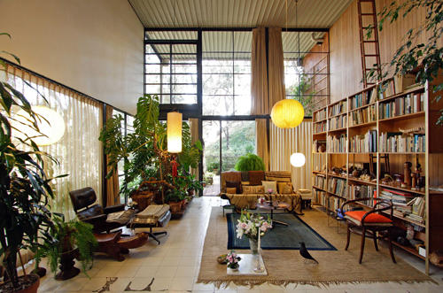 Recently  this house have been  Eames House Kitchen