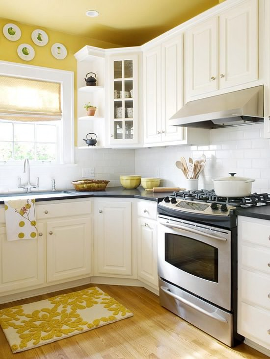 redecorating your kitchen with a touch of yellow