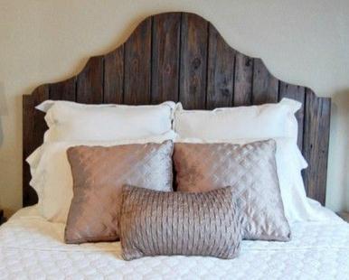 DIY Interior Design, Turn an Old Door into a Bed Headboard
