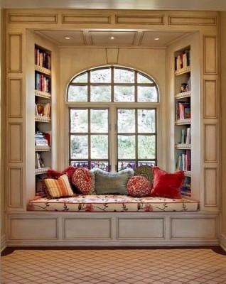 Creat a cozy reading nook