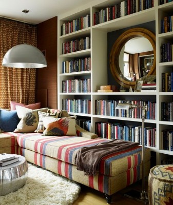 A bookworm's dream place