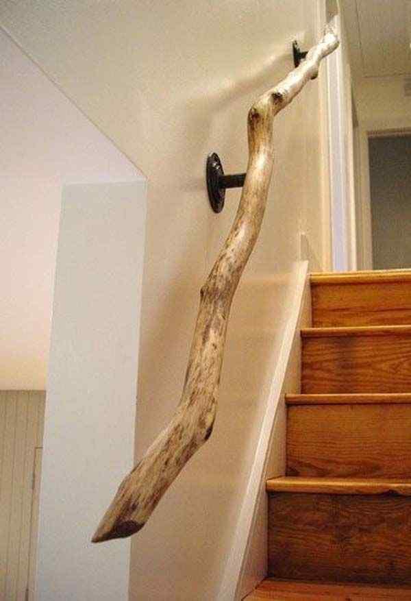 Simple Woodwork railing design