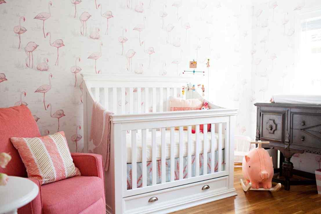 Flamingo Dancer nursery Decorating Themes