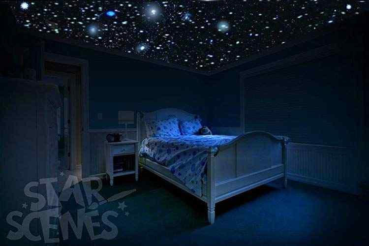 Not Afraid of the Dark themed room design
