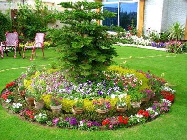 The Blossoming Circle garden design