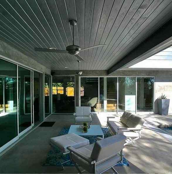 Roofed Backyard Patio