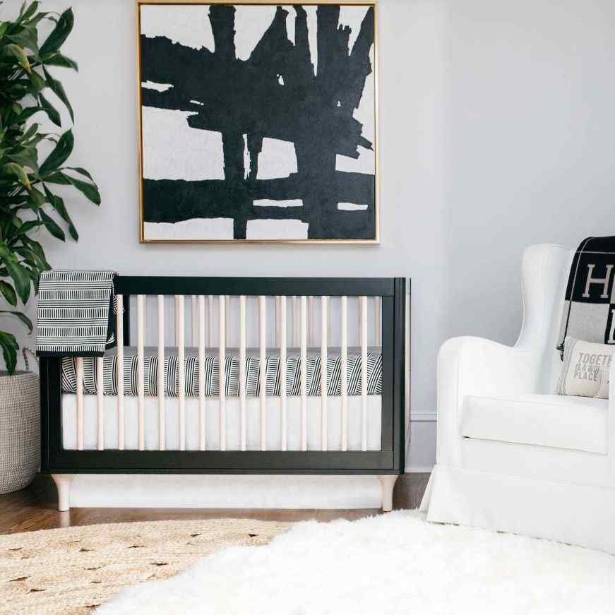 a black and white contemporary theme