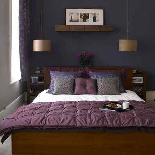 The Color Purple room design