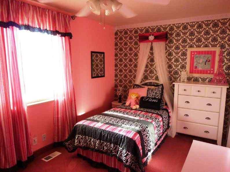 Petite Paris little girl bedroom