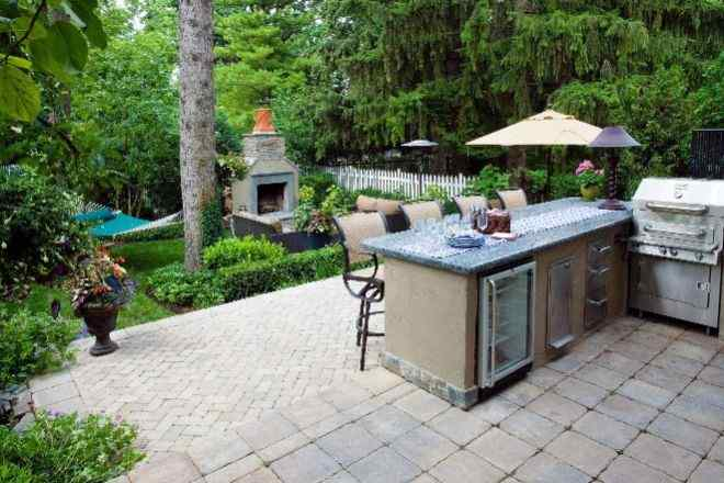Patio for Hosting Gatherings