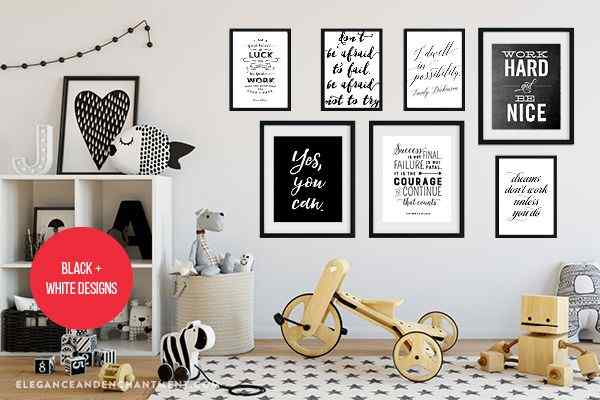 Quotes Gallery Wall