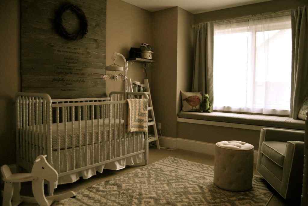 Rustic Fairybaby girl nursery design