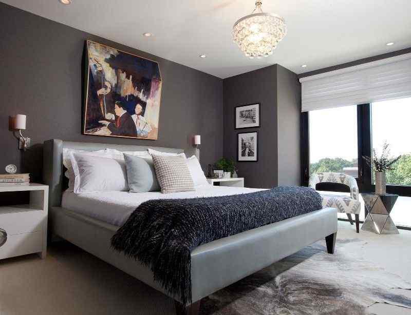 the luxurious look in your bedroom