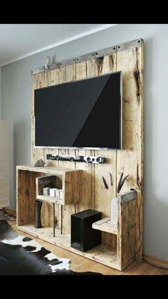 One Piece Entertainment TV wall