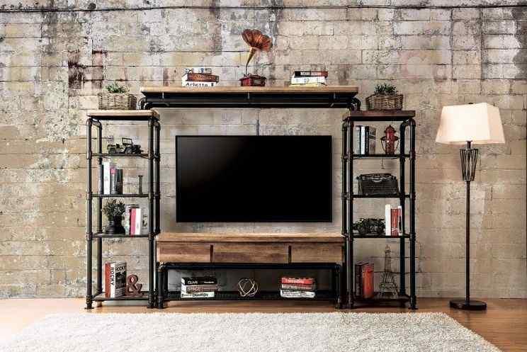 Pipeline TV Wall Shelf design