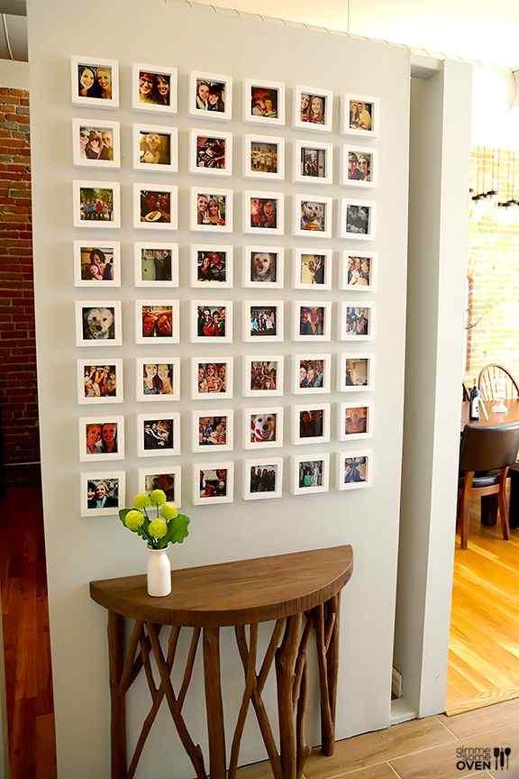 Miniature Gallery Wall