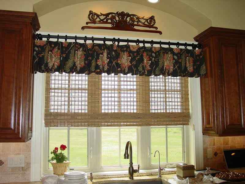 A Different Style kitchen curtain