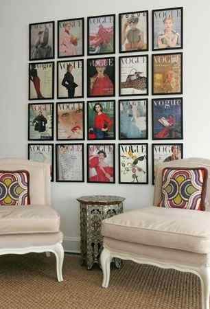 Vogue Gallery Wall