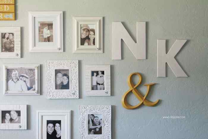 Couples Gallery Wall