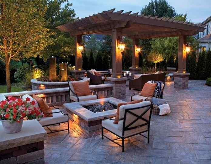Everything Outdoors backyard patio