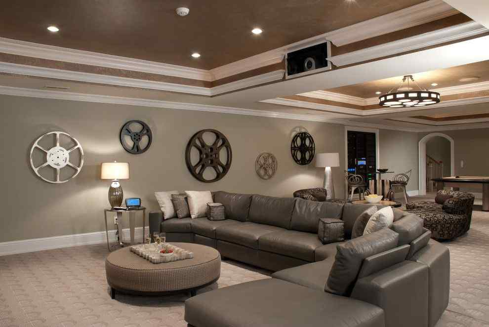 15 Cool Basement  Decorating Ideas & Designs to Transform your Empty Space