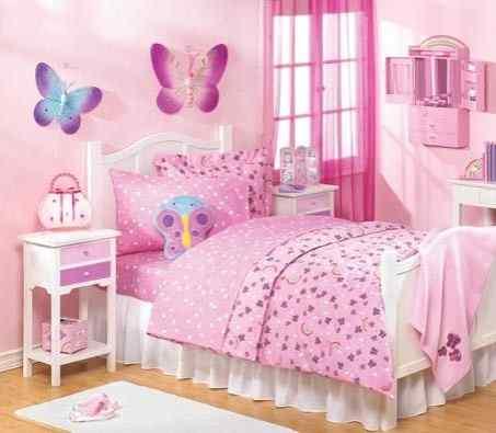 Butterfly little girl Bedroom