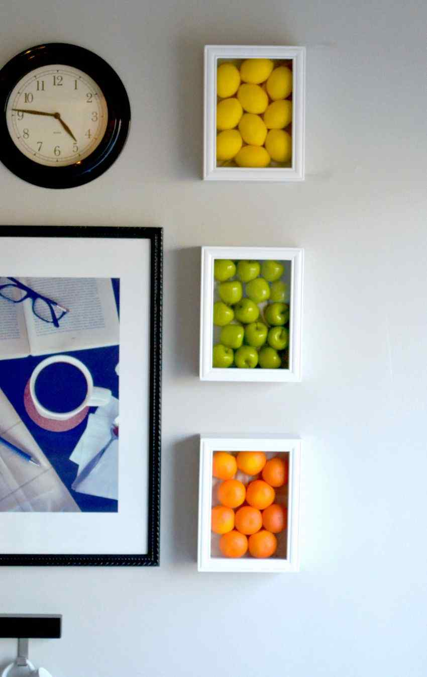 Fruits Picture Frame