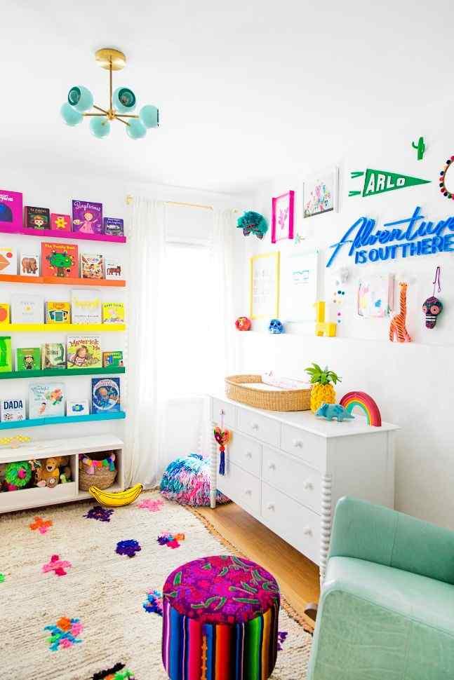 Rainbow Bliss nursery