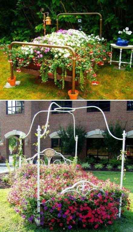 Bed of Flowers garden