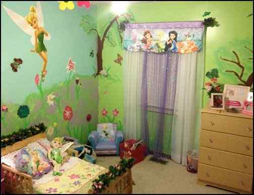 Tinker Bell Town little girl design