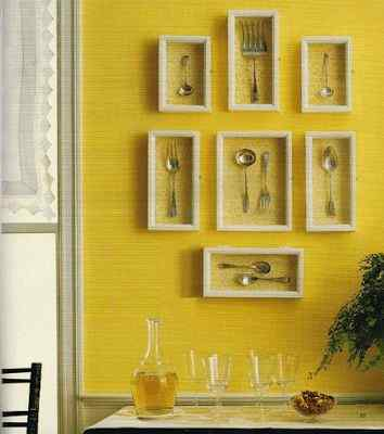 Cutlery Picture Frame