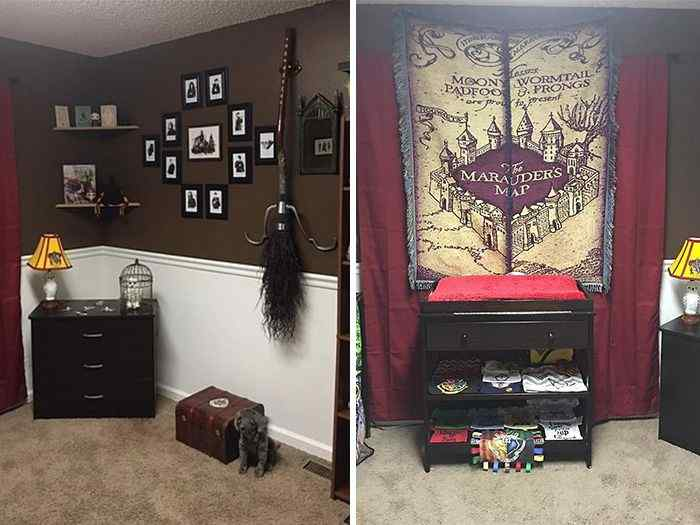 A Wizards World bedroom
