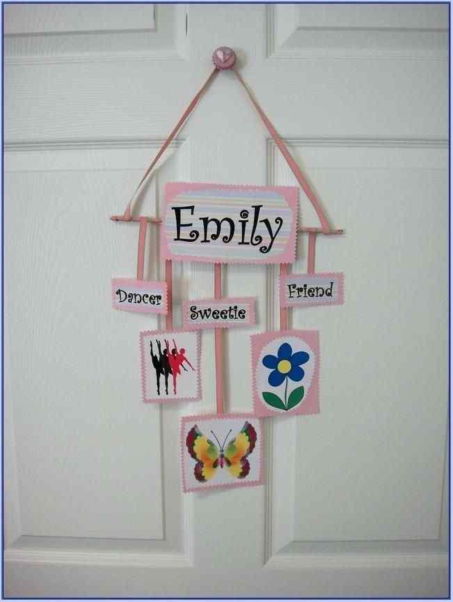 Kids' Bedroom Door Decoration Ideas