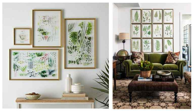 16 Fun and Cool Gallery Wall Ideas & Layout for