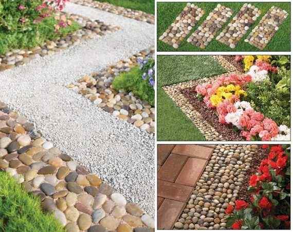 Pathway to Eden flower garden idea