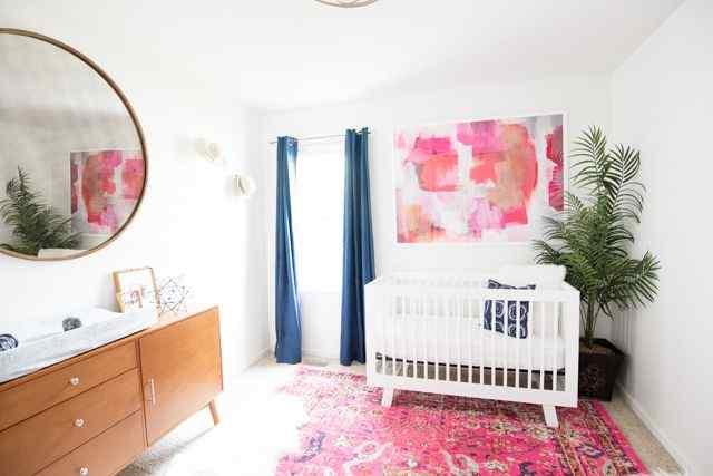 All Abstract girl nursery ideas