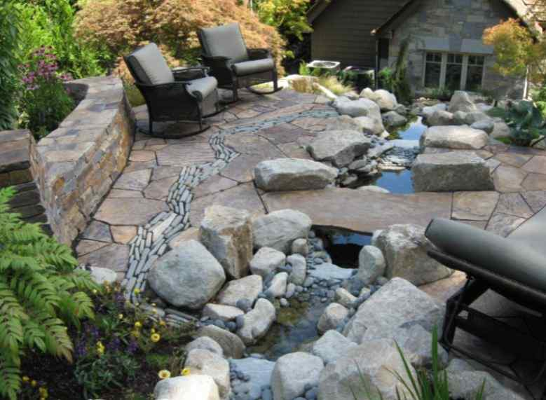 19 Best Stone Patio Ideas and Designs to Enhance Your Home's Exterior