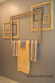 Towel Picture Frame