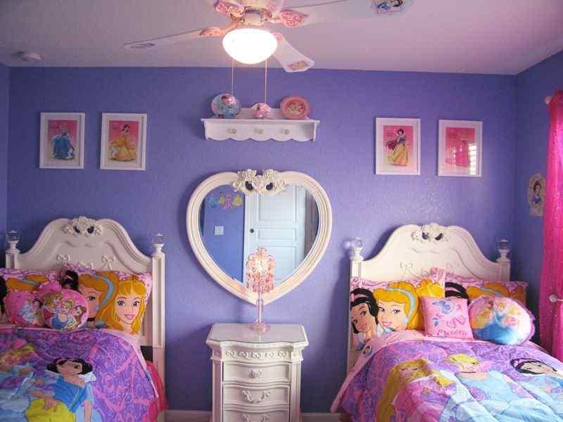 Pretty Princess themed room